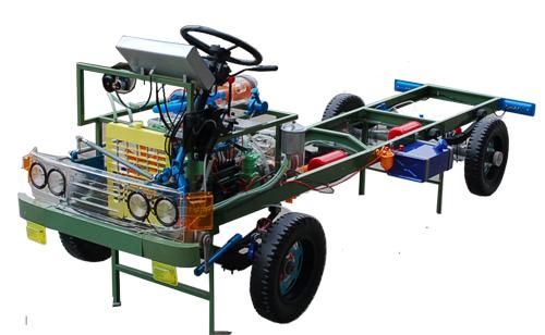 CA1121透明整车教学模型 ,汽车教学实训模型