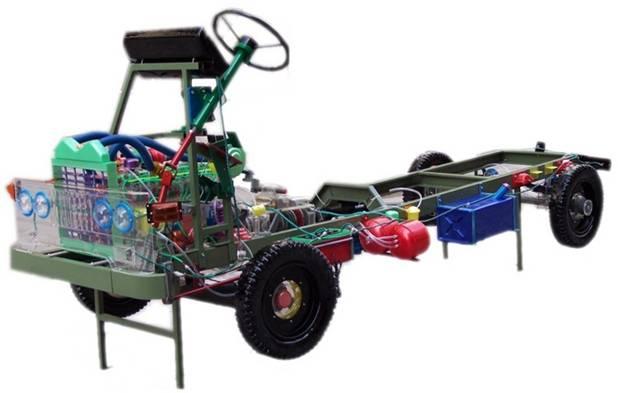 CA1122全车透明教学模型,全车整车模型