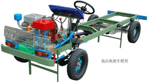 拖拉机整车模型 ,全车透明整车模型,汽车模型