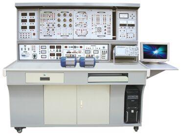实验端口已通过接线柱引出,镇流器,日光灯,启动器已装在实验屏内.